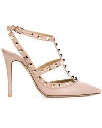 Valentino Zapatos de tacón Rockstud Garavani - Rosa