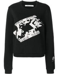 Damir Doma - Front Printed Sweatshirt - Lyst