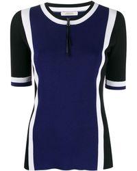 Dorothee Schumacher カラーブロック Tシャツ - ブルー