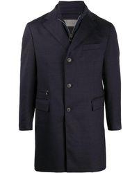 Corneliani レイヤード シングルコート - ブルー