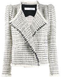 IRO Chaqueta de tweed ajustada - Multicolor