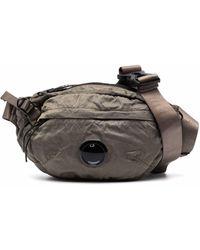 C.P. Company Lens ロゴ ベルトバッグ - グリーン