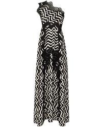 Stella McCartney Macey プリント ドレス - ブラック
