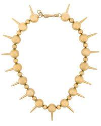 Balenciaga - Halskette mit Stacheln - Lyst