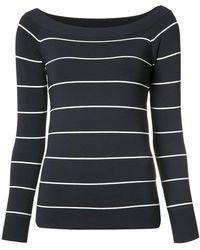 Jason Wu   Striped Sweatshirt   Lyst