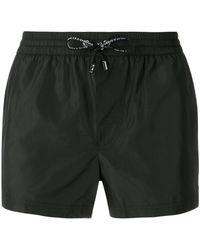 Dolce & Gabbana Logo Swimming Shorts - Black