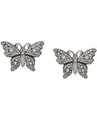 Gucci - Orecchini a farfalla - Lyst