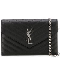 Saint Laurent - 'monogram' Crossbody Bag - Lyst