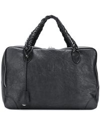 Golden Goose Deluxe Brand Equipage luggage Tote - Black