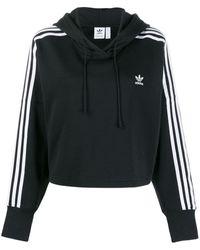 adidas Hoodie Met Logo - Zwart