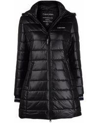 Calvin Klein ダウンコート - ブラック