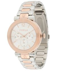Furla Block 腕時計 - メタリック