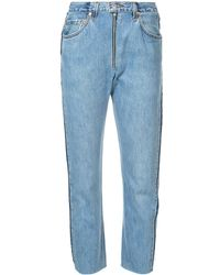 RE/DONE - High Rise Relaxed Jeans - Lyst