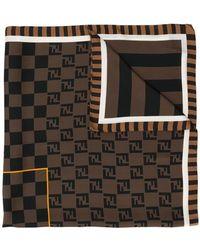 Fendi - Pañuelo con logo estampado - Lyst