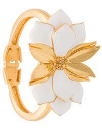 Oscar de la Renta - Bold Petal Bracelet - Lyst