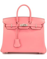 Hermès Сумка-тоут Birkin 25 Pre-owned 2020-го Года - Розовый