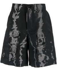 Givenchy カーゴショーツ - ブラック