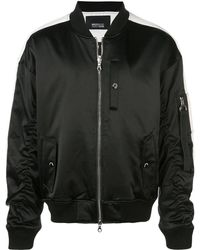 Mostly Heard Rarely Seen Track Ma-1 Jacket - Black
