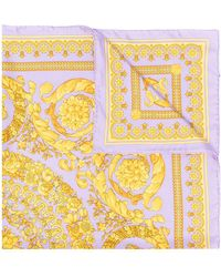Versace Платок С Принтом - Пурпурный