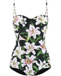 Dolce & Gabbana Costume intero Lily - Nero
