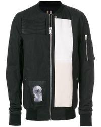 Rick Owens Drkshdw - Printed Bomber Jacket - Lyst