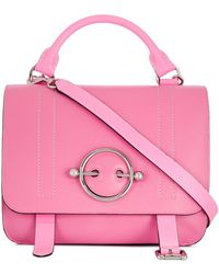 JW Anderson Malibu Disc Satchel - Pink