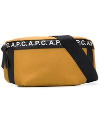 A.P.C. Поясная Сумка С Логотипом - Многоцветный