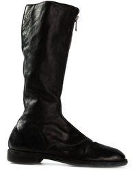 Guidi ホースレザーブーツ - ブラック