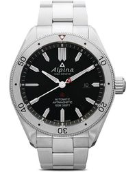Alpina Наручные Часы Alpiner 4 Automatic 44 Мм - Черный
