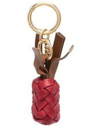 See By Chloé Woven Keyring - Red