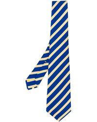 Kiton - Striped Pattern Tie - Lyst