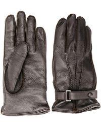 Ermenegildo Zegna - Snap buttoned gloves - Lyst