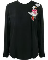 Boutique Moschino T-shirt More Is More - Noir