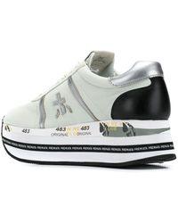 Premiata Beth Platform Sneakers - Gray