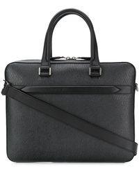 Ferragamo Classic Briefcase - Black