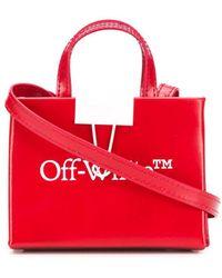 Off-White c/o Virgil Abloh Baby Box Logo-print Crossbody Bag - Red