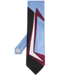 Marni - Graphic Patterned Tie - Lyst