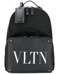 Valentino - Vltn Backpack - Lyst