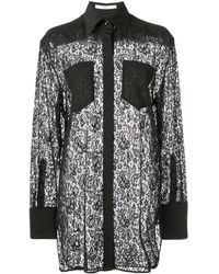 Givenchy Lace Shirt - Black