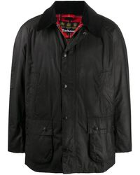 Barbour Ashby ワックスジャケット - ブラック