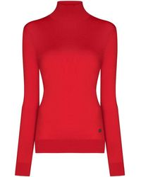 Givenchy タートルネック セーター - レッド