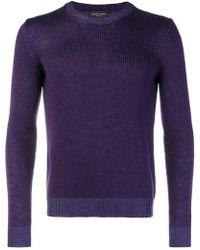 Roberto Collina - Crew Neck Sweater - Lyst