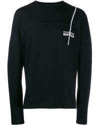 Kiko Kostadinov グラフィック ロングtシャツ - ブラック