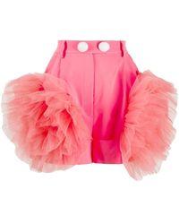 Loulou チュール ショートパンツ - ピンク