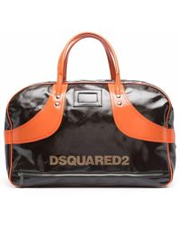 DSquared² Logo-print Zip-up Holdall - Multicolor