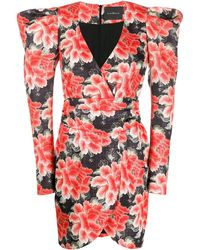 John Richmond - Rwa19378ve-svfloraljac - Lyst
