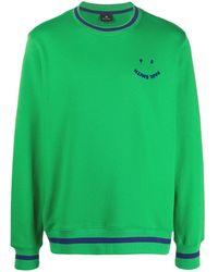 Paul Smith Толстовка С Логотипом - Зеленый