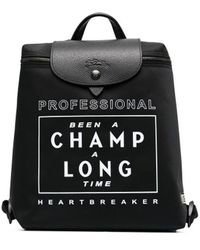 Longchamp Рюкзак Le Pliage Collection Eu - Черный