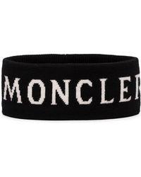 Moncler Logo Printed Headband