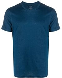 Majestic Filatures リネン Tシャツ - ブルー